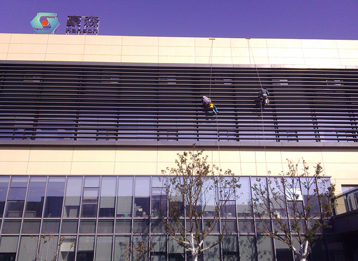 高空外墙清洗